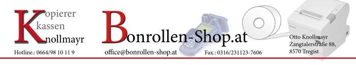 Bonrollen-shop Thermorollen Kassenrollen Knollmayr